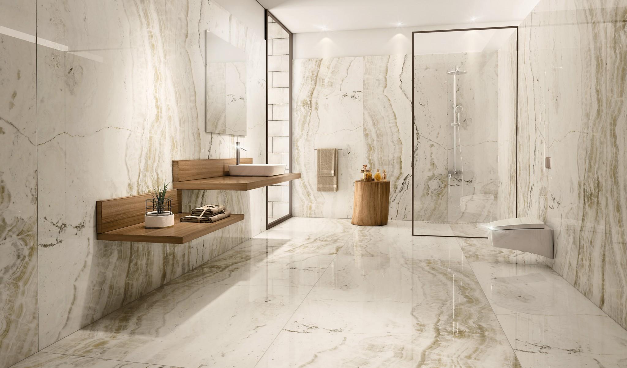 Travertine Tile Bathrooms